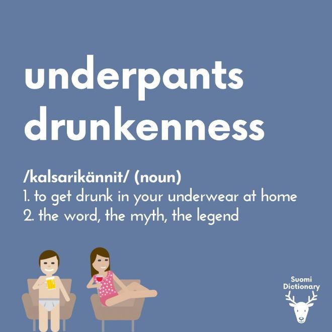 Underpants drunkeness.