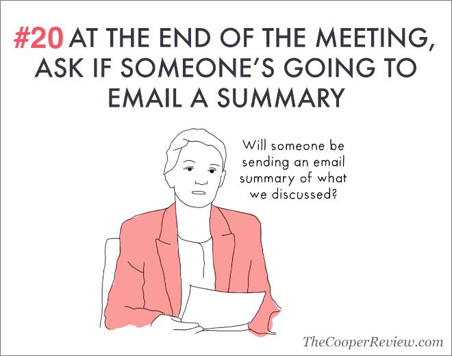 Comment paraître intelligent dans les réunions.