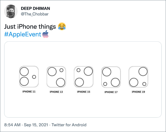 Just iPhone things.