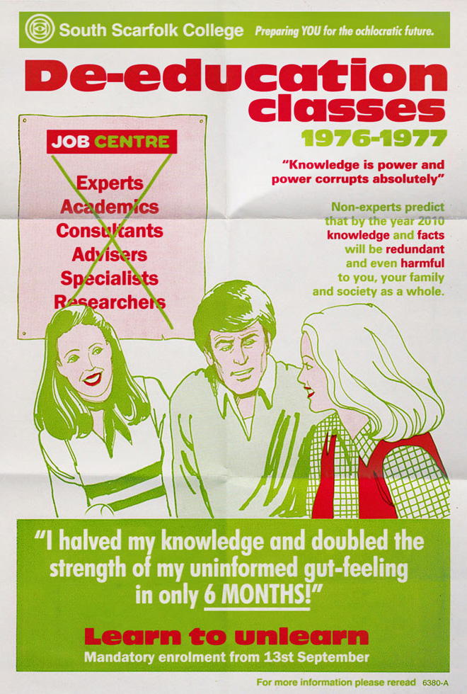 1970s-era poster from an imaginary English town.
