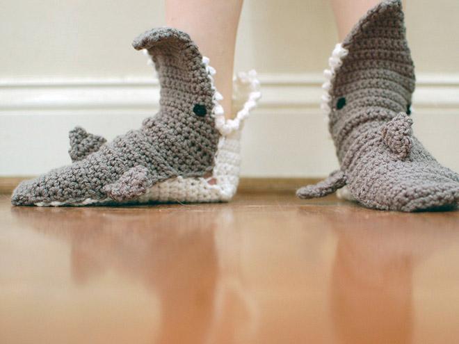 Shark socks.