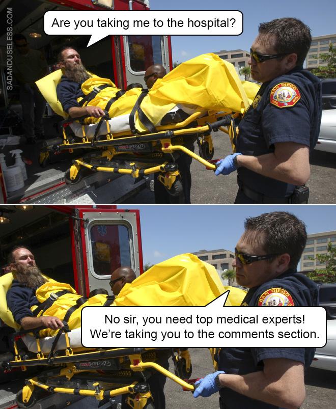 Les mèmes de docteur sont les meilleurs mèmes.