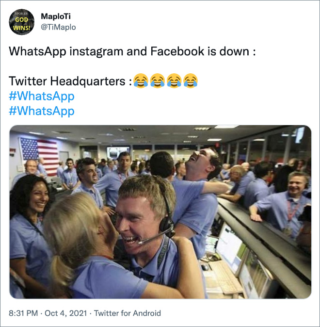 Twitter headquarters...