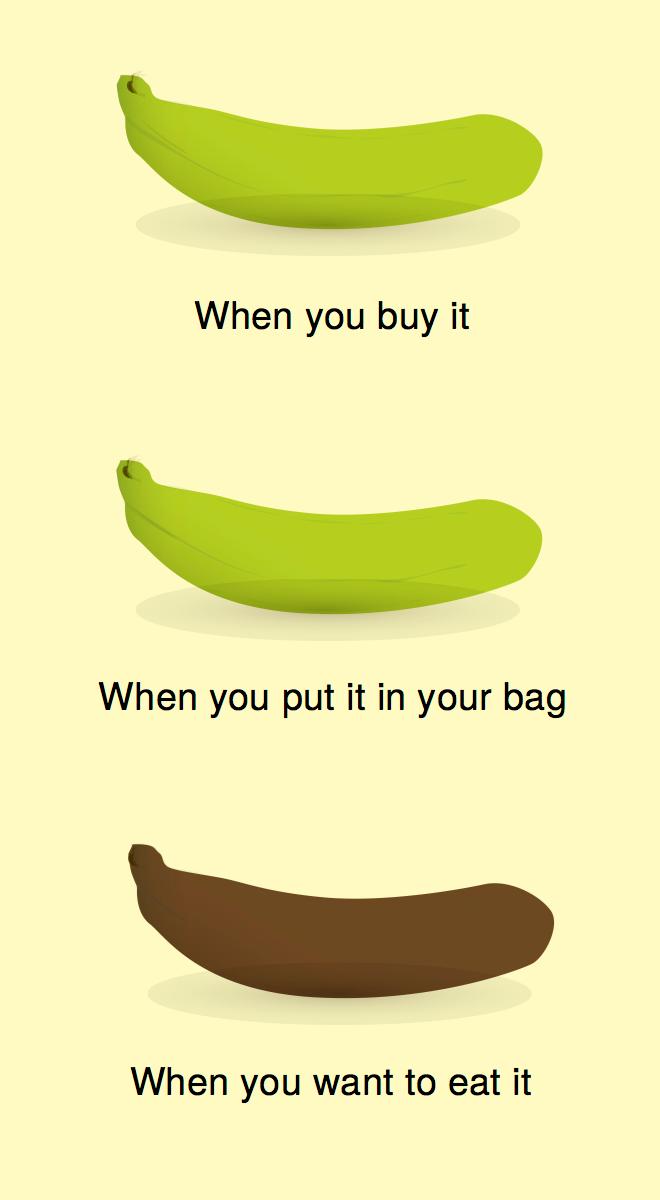 Bananes.