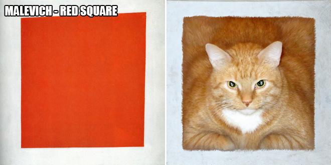 Cat art.