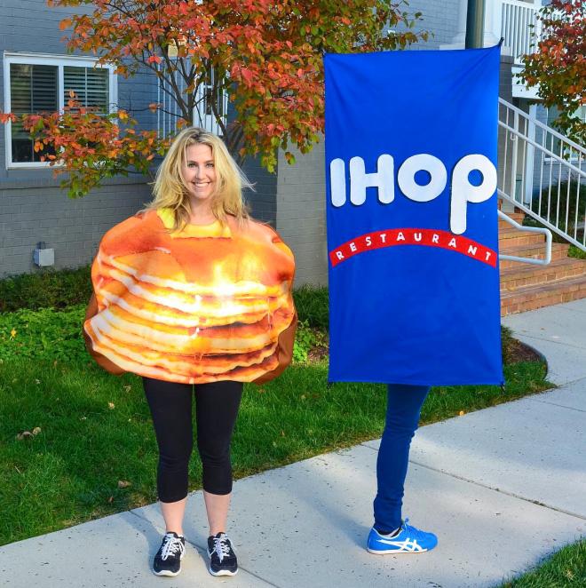 Brilliant Halloween costume.