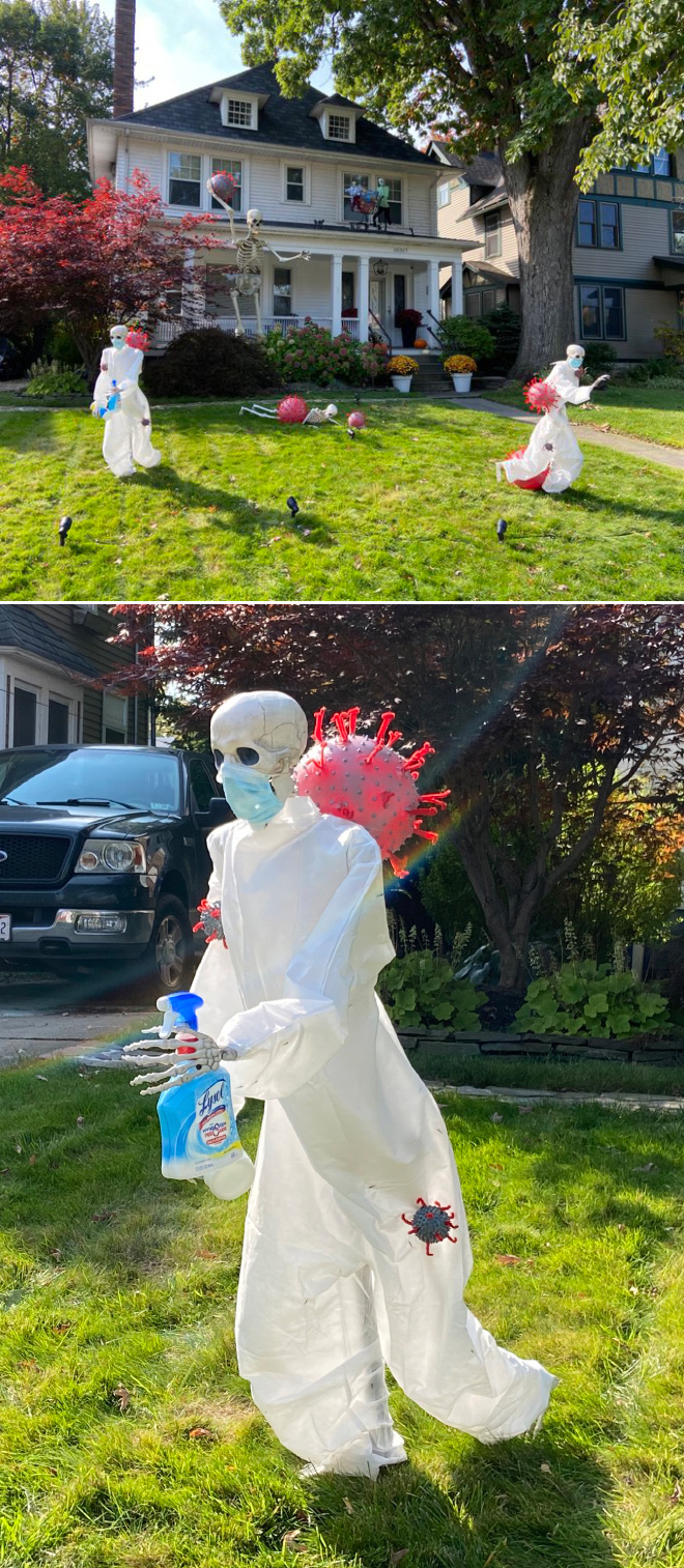 Brilliant Halloween decorations.