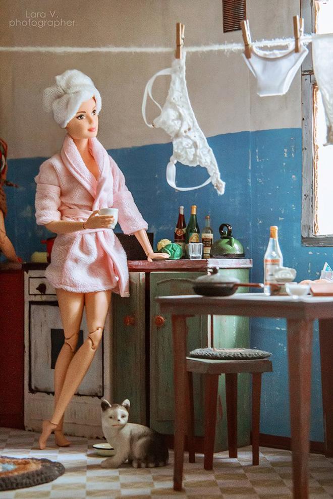 Soviet Barbie.