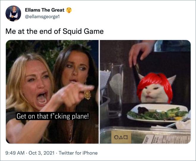 Moi à la fin de Squid Game